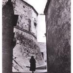 Castello Baronale Medioevale. Vista da Via Roma