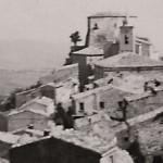 Castello Panorama da Via Campidoglio. Anni 50