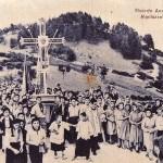 La processione. Ricorso anno Santo 29 luglio 1950