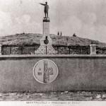 Monumento ai caduti. Campo sportivo. Anno 1927