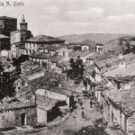 Veduta del Corso Umberto I. Primi anni del 900
