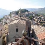 Montazzoli: vista dal Castello